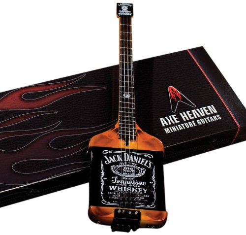 Axe Heaven MA-030 Electric Jack Daniels Miniature Bass Replica Accessory Consumer Accessories