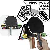 Table tennis storage rack wall mount (100% Steel)