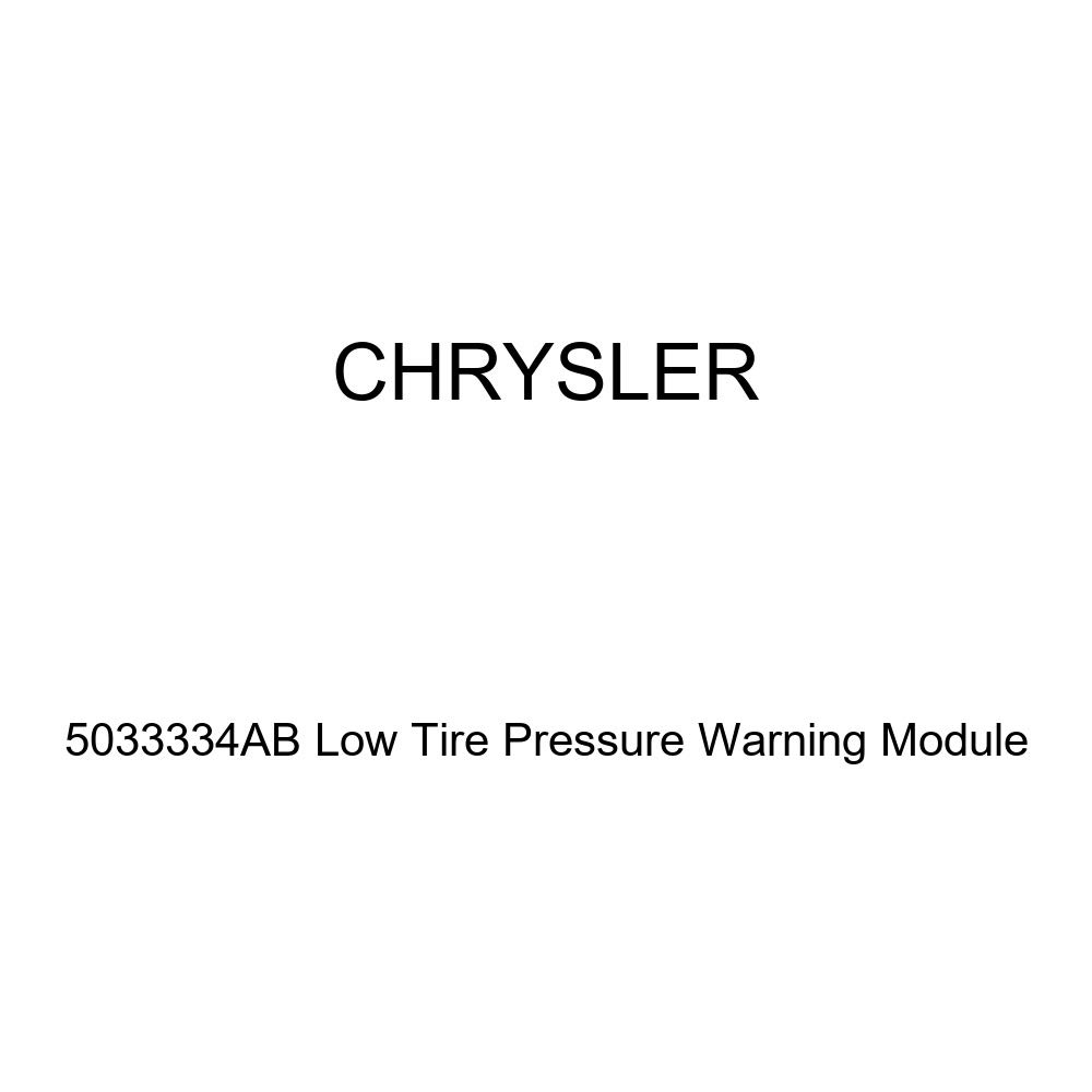 Genuine Chrysler 5033334ab Low Tire Pressure Warning Module Tire