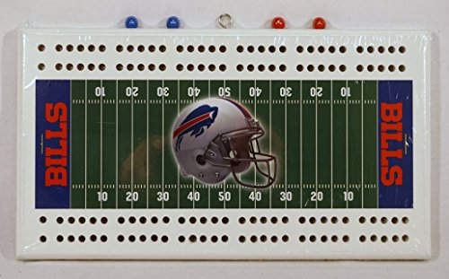 - Buffalo Bills NFL Cribbage Board