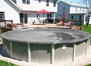 12' X 18' Oval Silver Supreme Plus Above Ground Swimming Pool Winter Cover 15 Year Warranty