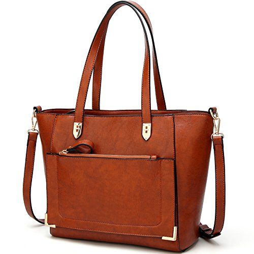 Shoulder Brown Bag - 5