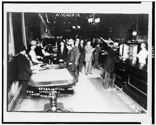 HistoricalFindings Photo: Open gambling,Louvre,casinos,barrooms,roulette tables,Reno,Nevada,NV,c1910