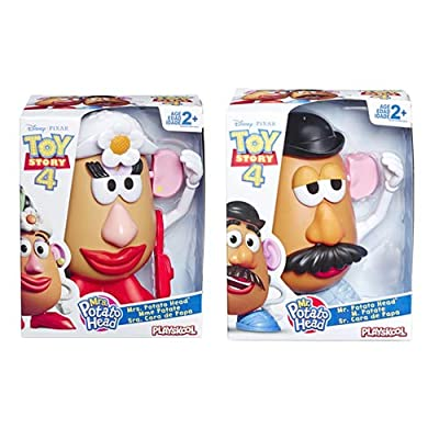 Toy Story 4 E3069EU4 Mr Classic Mr & Mrs Potato Head-Set of 2, Multi: Toys & Games