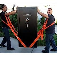 Lyft- och rörliga remmar, tunga föremål utan ryggsmärta, remmar och selar för 2 personer (2-personers axellyft och…