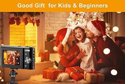 Digital Camera, wechi 1080P HD Digital Students Cameras 36MP Video Camera Vlogging Camera with 16X Digital Zoom, Mini Camera for Kids/Teens/Seniors/Beginners