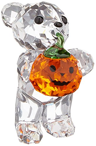 Swarovski A Pumpkin For You Kris Bear Figurine, 1-1/2