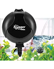 Hygger Pompe à Air pour Aquarium, Super Silencieuse De <33db Électromagnétique Oxygène Mini Pompe pour Aquarium Jusqu'à 50l Réservoir À Poissons Ultra Silencieux Economiseur De Nano Énergie 1.5W