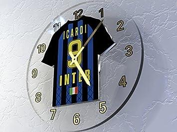 Serie A – italiano camiseta de fútbol relojes de pared – cualquier nombre, cualquier número