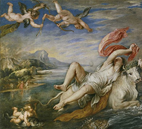 The High Quality Polyster Canvas Of Oil Painting 'Rubens Peter Paul The Rape Of Europe 1628 29 ' ,size: 12 X 13 Inch / 30 X 34 Cm ,this High (Turbo Snail Costume For Sale)