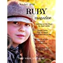 """RUBY Magazine October 2016: """"Your Story, Your Voice"""""""