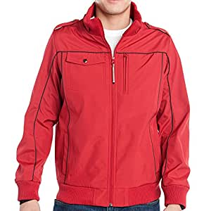 Baubax Travel Jacket - Bomber - Male - Red - Small