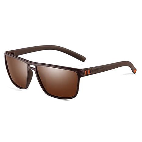 Yangjing-hl Gafas de Sol polarizadas Retro de Marca para ...
