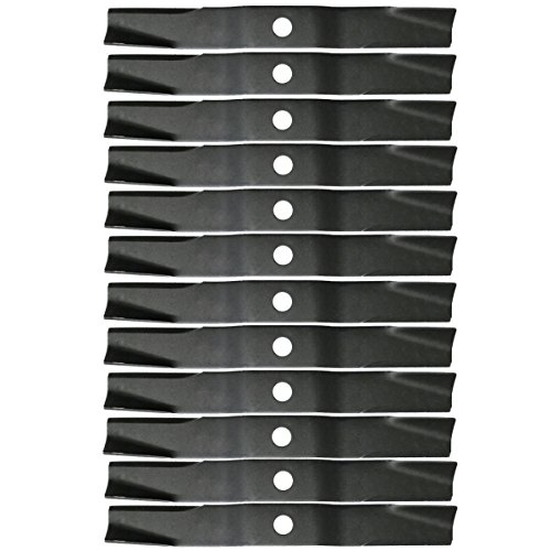 (12PK Lawn Mower Blades for 60