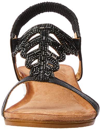 Alfina Sandals Black Fashion Women Black Gia rwqAaCr