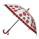 Aerusi Kids' Children's Cute Ladybug Design, Red Ladybugs