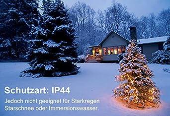 Warmwei/ß LED Lichtervorhang 3x3m 304 LEDs Ollny USB Lichterkette mit Fernbedienung /& Timer 8 Modi f/ür Weihnachten Partydekoration Geburstag Hochzeit Wohnzimmer Kinderzimmer
