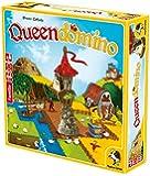 クイーンドミノ Queendomino ドミノが入るタワー付き ボードゲーム (並行輸入品)