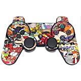 Sticker Bomb PS3 Dual Shock wireless controller Vinyl Decal Sticker Skin by This Mugs 4U Review