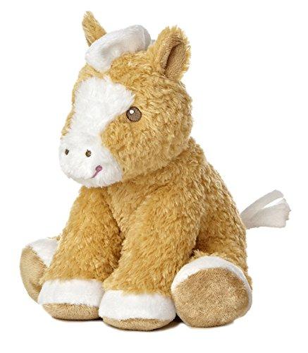 Aurora World Baby Noah's Ark Plush Toy, Natural Horse