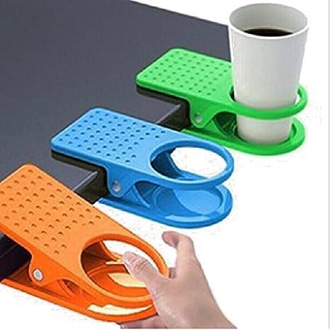 Soporte portavasos de mesa, de plástico, color al azar, paquete con 2 unidades, de Nalmatoionme: Amazon.es: Hogar