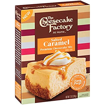Amazon Com The Cheesecake Factory At Home Cheesecake Mix Salted