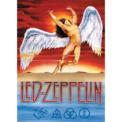 (40x55) Led Zeppelin (Swan Song, Huge) Music Poster Print