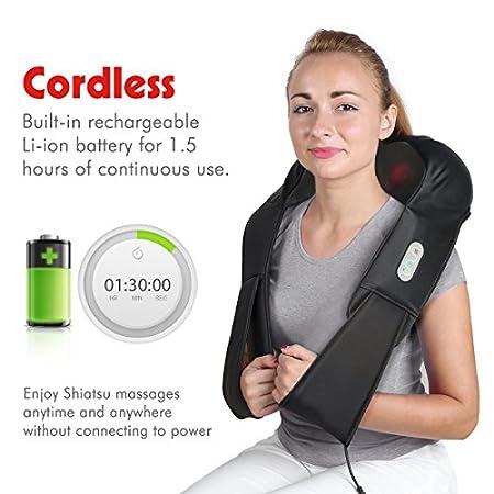 1byone Cordless Shiatsu Massager