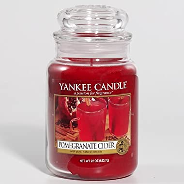 Yankee Candle Pomegranate Cider Large Jar Candle, Food & Spice Scent