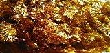 880g - Waxed Shellac Flakes - GOLDEN - Natural Pure Polish Varnish - 880g / 32oz / 2lbs - Direct From India