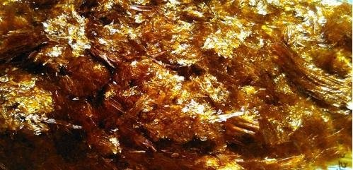 880g - Waxed Shellac Flakes - GOLDEN - Natural Pure Polish Varnish - 880g / 32oz / 2lbs - Direct From India by Export Chef
