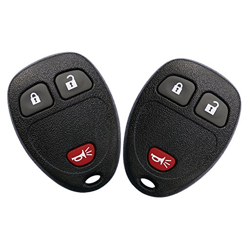 YITAMOTOR Key Fob Compatible for 2007-2013 Chevrolet Silverado 1500 2500 3500 GMC Sierra 1500 2500 3500 Keyless Entry Remote Control Replacement for OUC60270 OUC60221