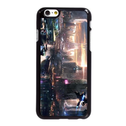 H3Q07 souvenir de moi J4K8BL coque iPhone 6 Plus de 5,5 pouces cas de téléphone portable couverture de coque noire DC5IBU3IL