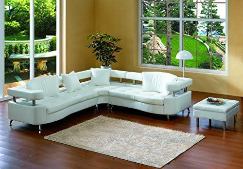 Sensational Amazon Com Modern Line Furniture 8224W Contemporary Leather Machost Co Dining Chair Design Ideas Machostcouk