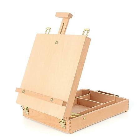Caballetes de madera para mesa de escritorio, paleta de pintura ...