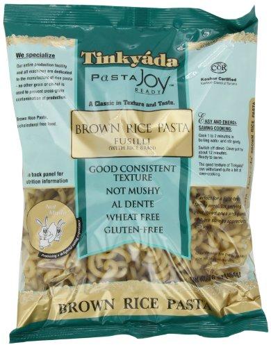 Tinkyada Brown Rice Pasta, Fusilli, 16 Ounce (Pack of 12)