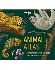 Lonely Planet Animal Atlas 1st Ed.: Amazing facts, fold-out maps and life-size surprises
