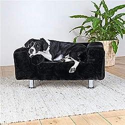 Trixie Roi des Chiens Canapé, 78x 55cm, Noir
