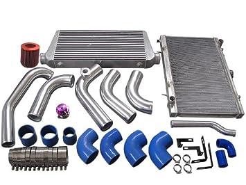 Intercooler ingesta de tuberías Radiador hardpipe Kit para 1jzgte Vvti 1JZ Swap 240sx S13 S14 Stock