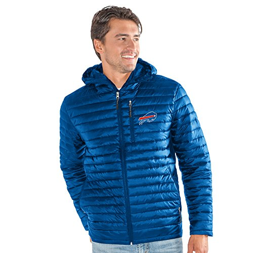 G-III Sports NFL Buffalo Bills Equator Quilted Jacket, 3X, (Buffalo Bills Mens Jackets)
