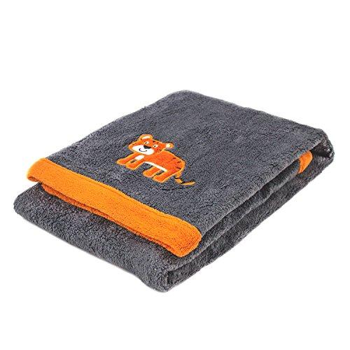 Cozy Fleece Baby Blanket Tiger product image