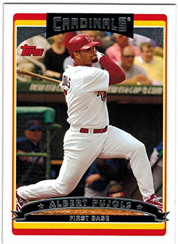 2006 Topps Team Set (2006 Topps St Louis Cardinals World Series Champs I - II & Update Team Set with 4 Pujols - Molina - Wainwright - 41 Cards)