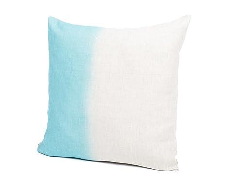 Harmony Tie and Dye – Funda de cojín, 100 % lino, color ...