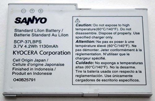 Sanyo Kyocera SCP-37LBPS Cell Phone BATTERY OEM 1130mAh Zio