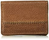 Tommy Bahama Men's Leather 2Tone Card Case-tan, One Size