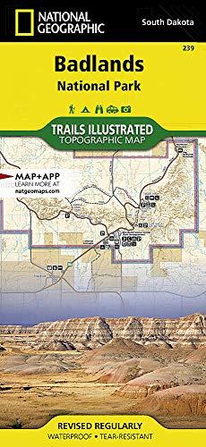 Badlands National Park: South Dakota, USA Outdoor Recreation Map (National Geographic Maps: Trails ()