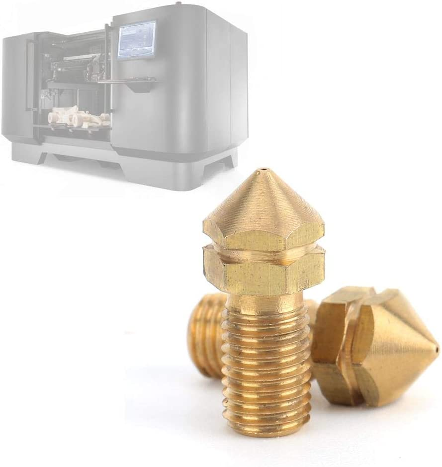 Small Tip-Shaped for 3.0mm Consumables Ultimaker Spare Parts Simlug Extruder Nozzle Brass Nozzle