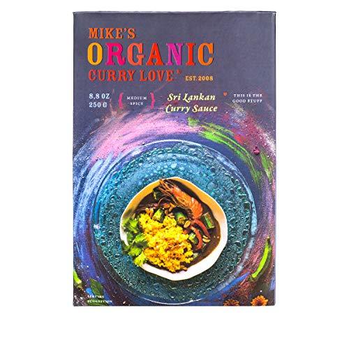 Sri Lankan Curry Sauce ORGANIC | case of 6 x 8.8 oz pouches (Sri Food Lankan)