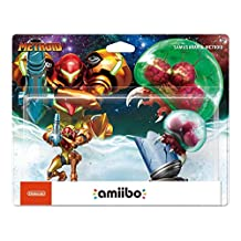 Nintendo amiibo - Samus Aran & Metroid (2 Pack)