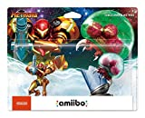 Video Games : Amiibo - Samus Aran & Metroid (2-Pack)
